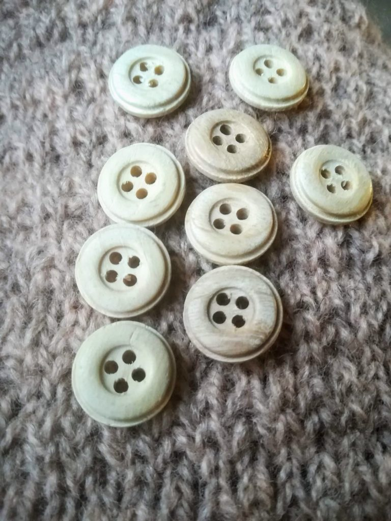 tricot boutons