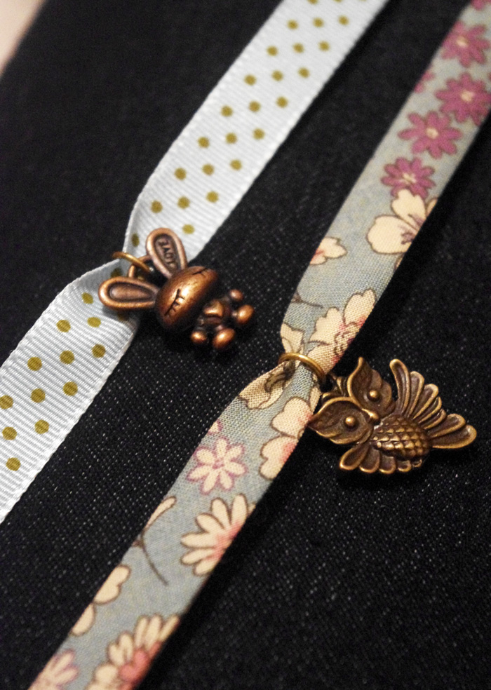 bracelets tissu