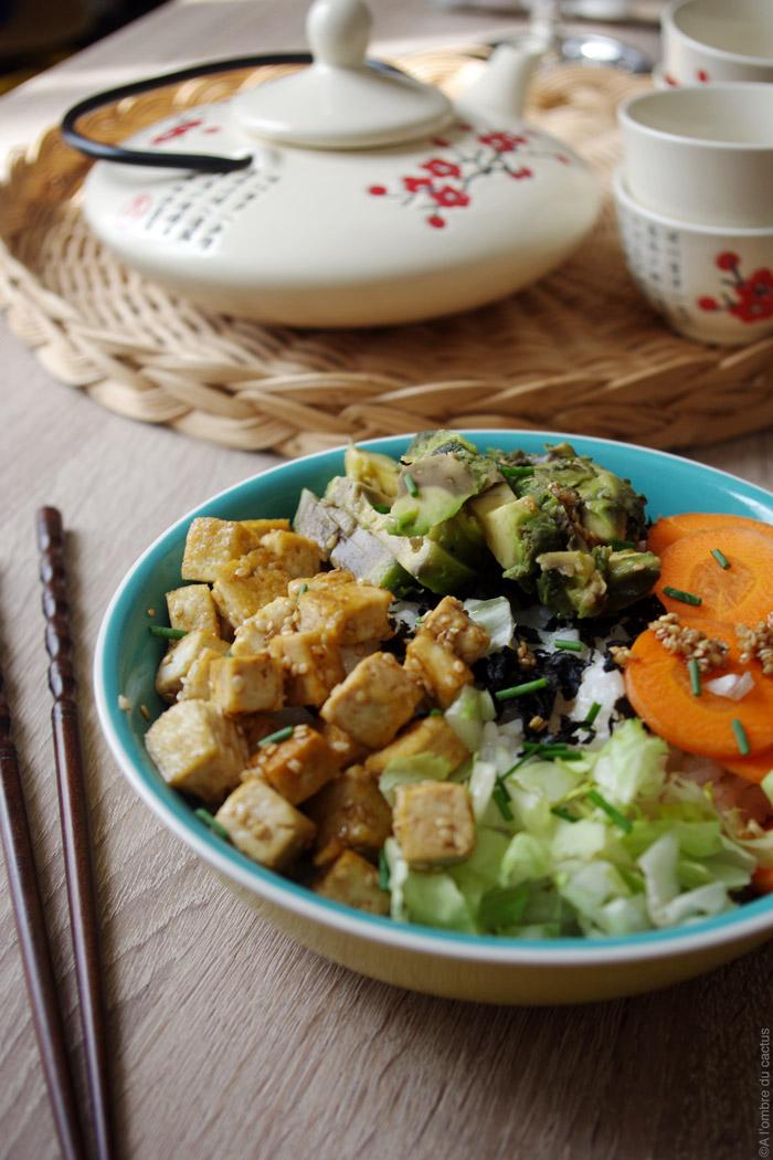 chirashi végétarien
