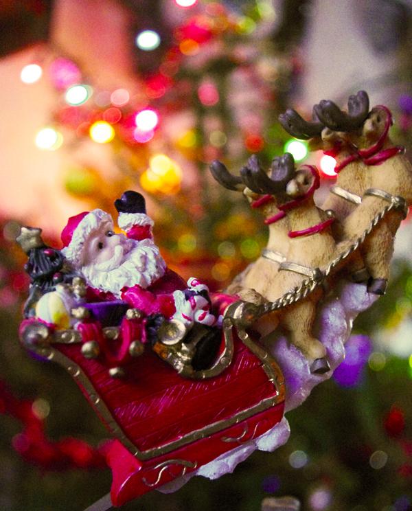 Bokeh de Noël