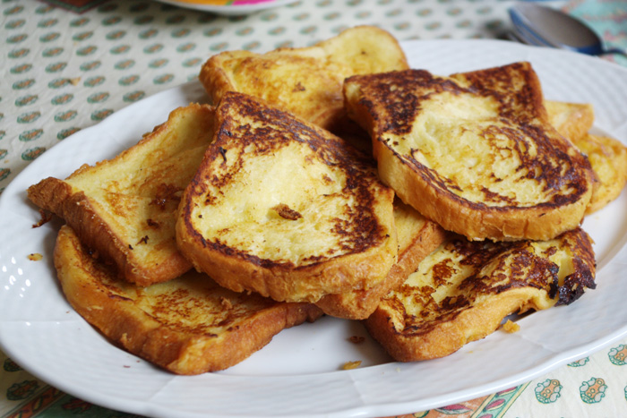 idées pour un brunch brioche pain perdu