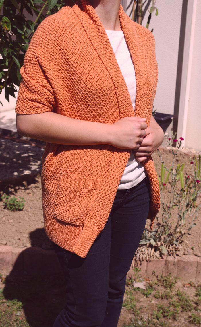 Le Kalblé tricoté par ma mère pour ma soeur