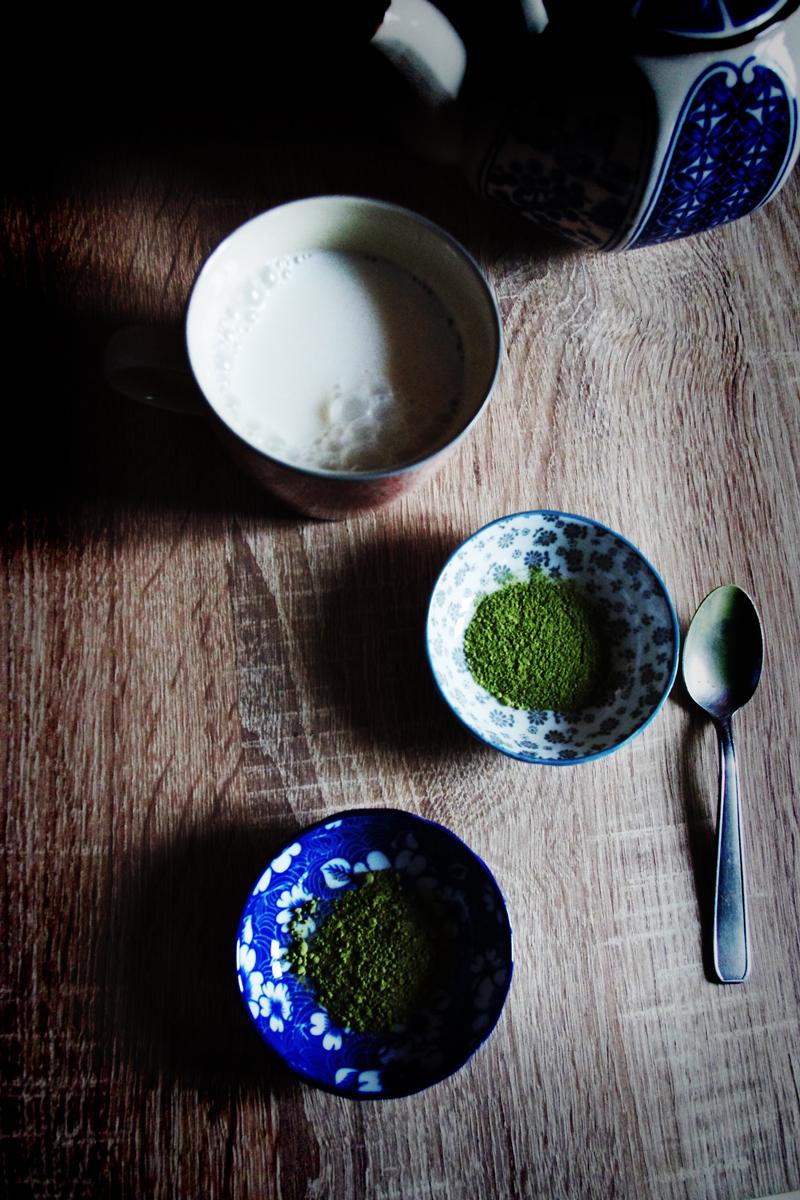 latte matcha & moringa